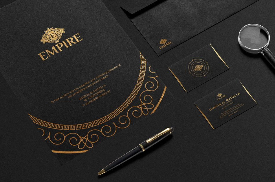Empire (Luxury Stationery)